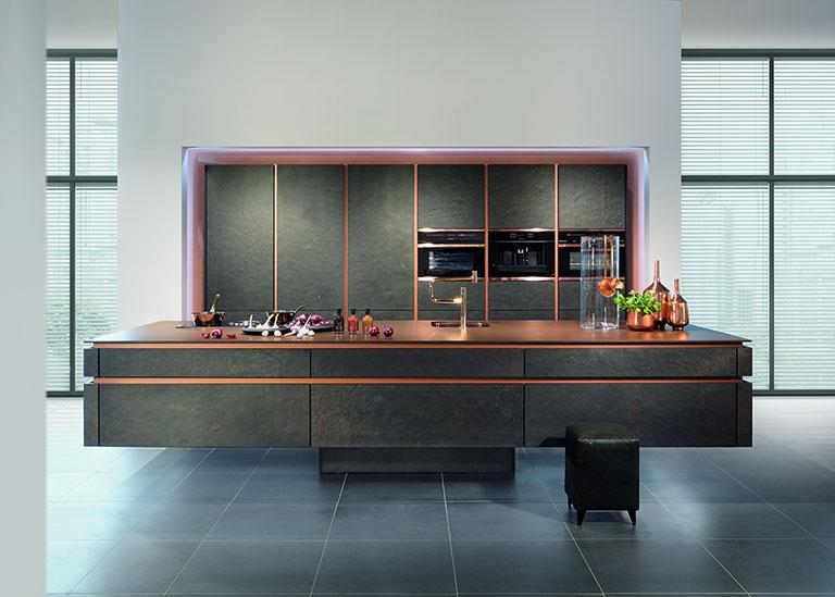 kuechen. Black Bedroom Furniture Sets. Home Design Ideas